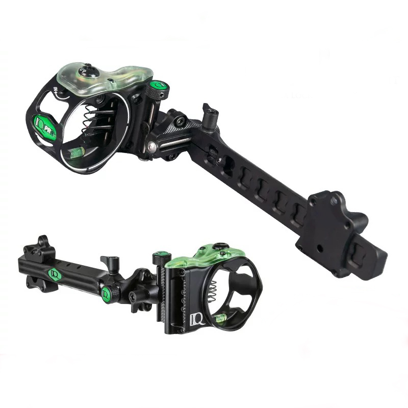Field Logic IQ Bowsights Pro XT Micro 5 & 7 Pin Compound Bow Archery Sight with Retina Lock Technology - Right Hand