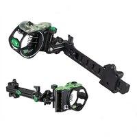 IQ Bowsights Pro XT 5 or 7 Pin Compound Bow Archery Sight Laser Illuminated By Optical Fiber Micro Optic sight Retina Technology