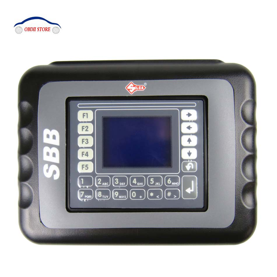 SBB Silca V33.02 SBB Key Programmer Immobilizer For Multi Brand Cars No Need Tokens sbb Key Pro Maker Transponder  Free Shipping  promotion newest ak90 key programmer ak90 pro key maker for b m w all ews version v3 19 plus ak90 with free shipping