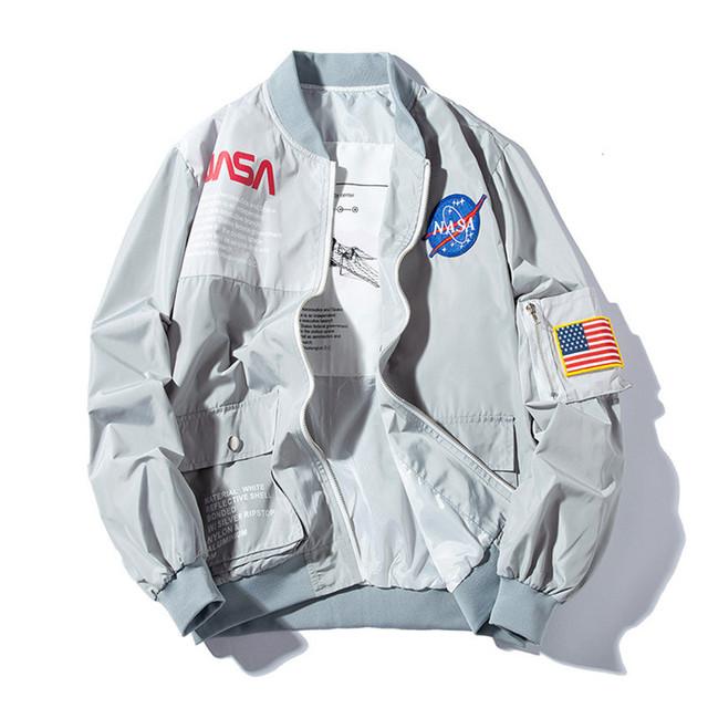 Plus Size Air Force Pilot Ma1 Bomber Flight Jacket Men Hip Hop Padded Letterman Spring Waterproof Nylon Puffer Women Coat,993