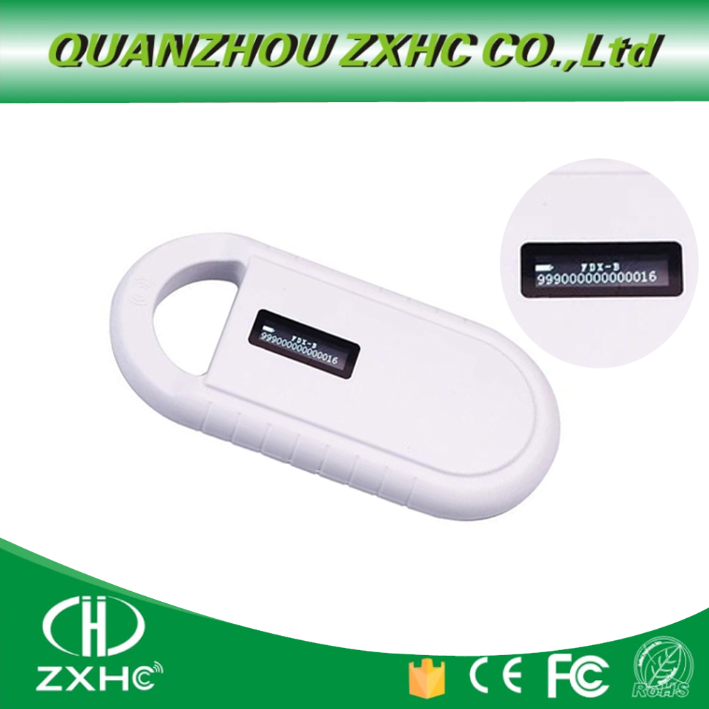 Image 2 - NEW Product Portable OLED Display RFID ISO11784/11785 134.2Khz FDX B Microchip Reader Scanner for Dog or Cat-in Control Card Readers from Security & Protection