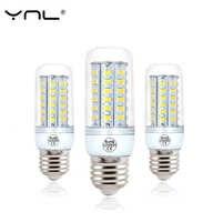 220V Bombillas LED Lamp Bulb E27 5 24 36 48 56 69 72 96 LEDs SMD5730 lamparas Lampada de LED High Bright Chandelier Lights