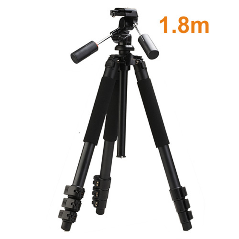 High Quality Professional 1.8m Aluminum MBL-620 Photo Video Tripod with 3-way Pan Head Heavy Duty Tripod Digital Camera Tripod 2016 new professional aluminum tripod camera tripod high quality aluminum tripod