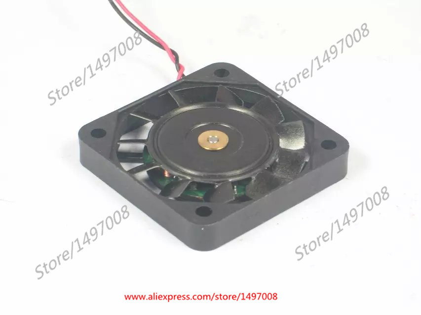Free Shipping Emacro ICFAN  0406-12  DC 12V 0.09A 2-wire 3-pin connector 50mm 40x40x10mm  Server Square fan free shipping emacro sf7020h12 61as dc 12v 250ma 3 wire 3 pin connector 65mm6 server cooling blower fan