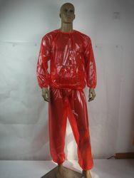 PVC للجنسين سلس البول بدلة عدو # P013-8 ، حجم: L/XL/XXL