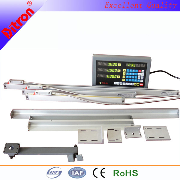 FREE SHIPPING (PACKAGE SALES) 3pcs of Linear scale DC10 (50-500mm+500-800mm+800mm-1000mm) +3axis Digital readout(DRO)