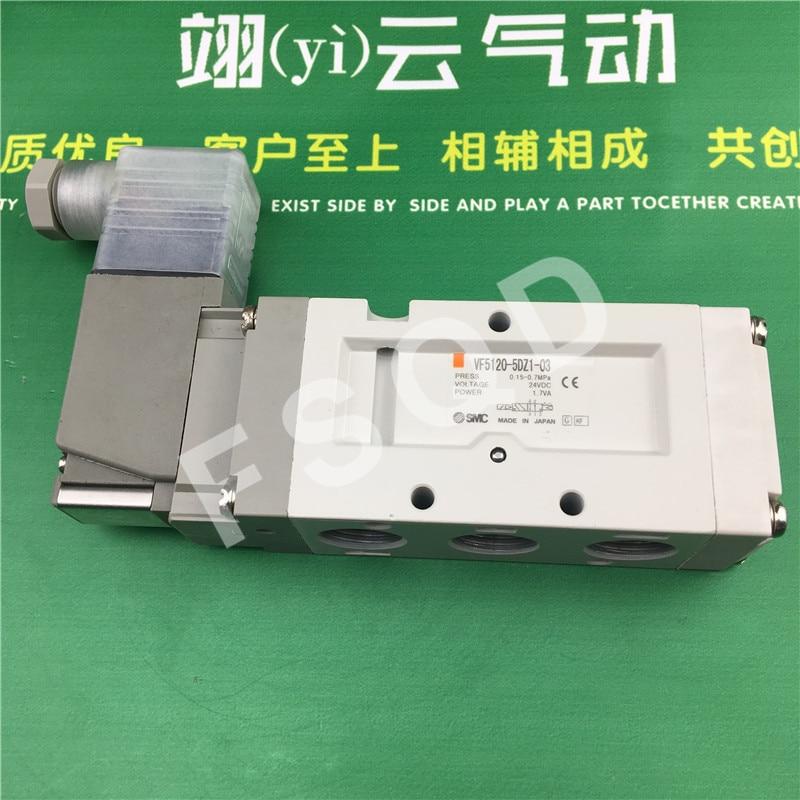 VF5120-5DZ1-03F VF5220-5DZ1-03F VF5120-5DZ1-03 VF5120-5D1-03 SMC solenoid valve electromagnetic valve pneumatic component my first eng adventure starter tb