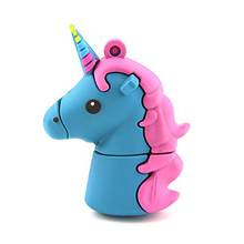 Cute Color horse USB Flash Drive Real capacity 64GB 32GB 16GB 8GB 4GB u disk tarjeta de usb memory sticks(China)