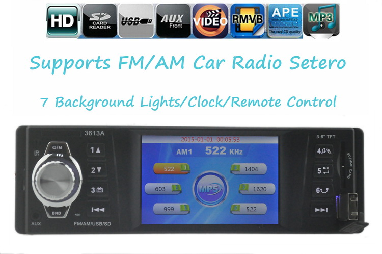 new car radio car stereo MP4 player car font b audio b font SD Card USB