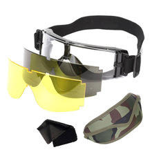 Protective-Eye-Glasses Sunglasses Tactical-Goggles Shooting Wargame Airsoft Military