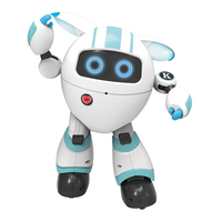 Colorful LED Girls Wireless Early Education Singing Robot Toy Gifts Kids Birthday Interactive 2.4G Remote Control Moving Dancing