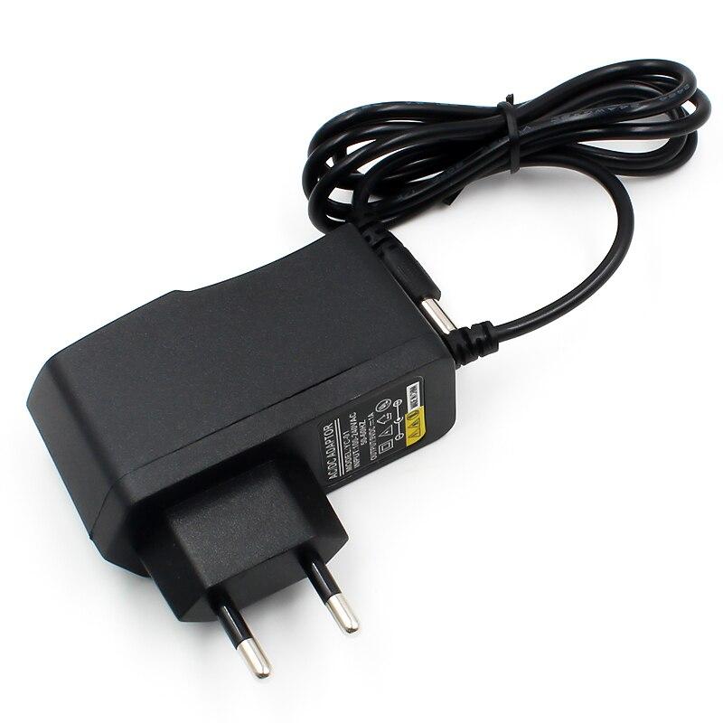 Dc 9v1a 9 v 1a fonte de alimentação ac 100 v-240 v conversor adaptador ue plug carregador 5.5mm x 2.1mm 1000ma para arduino diy kit