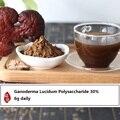 O envio gratuito de 200 g/lote polissacarídeos Ganoderma lucidum 30% natural em pó extraído de melhor qualidade