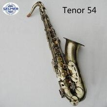 Henri Selmer B-tenor Saxophon Tropfen B Saxophon Instrumente Referenz 54 Bronze Sax Musikinstrumente Mit Fall