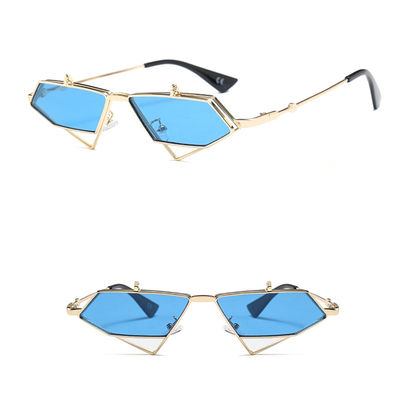 flip up sunglasses men punk style detail (7)