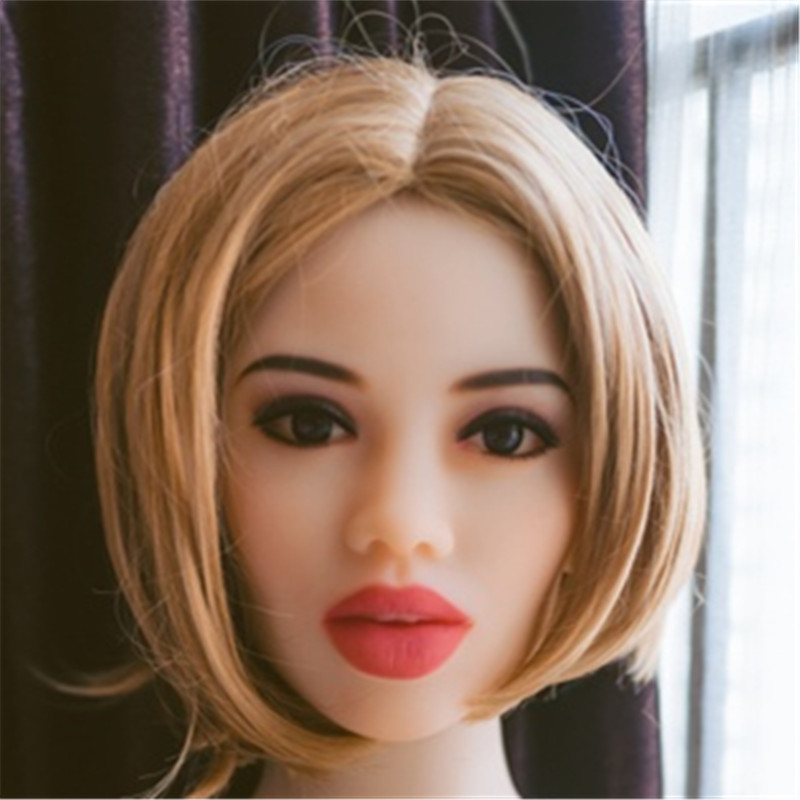 New WMDOLL 64# <font><b>sex</b></font> <font><b>dolls</b></font> Head Big <font><b>Doll's</b></font> Head Tan Skin Head Suitable For 140cm -<font><b>170cm</b></font> <font><b>sex</b></font> <font><b>Dolls</b></font> image