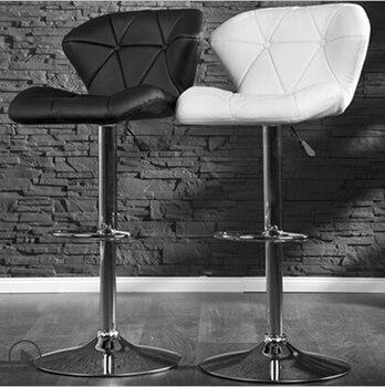 Continental barstool bar chair rotating chair leisure chairs reception цена 2017
