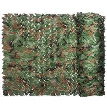 цена 1x1.5m Military Army Camping Hunting Woodland Camouflage Netting Sun Shelter онлайн в 2017 году