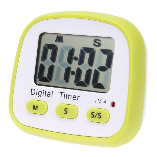 Kitchen Countdown Timer Practical Cooking Timer Refrigerator Sticker ...