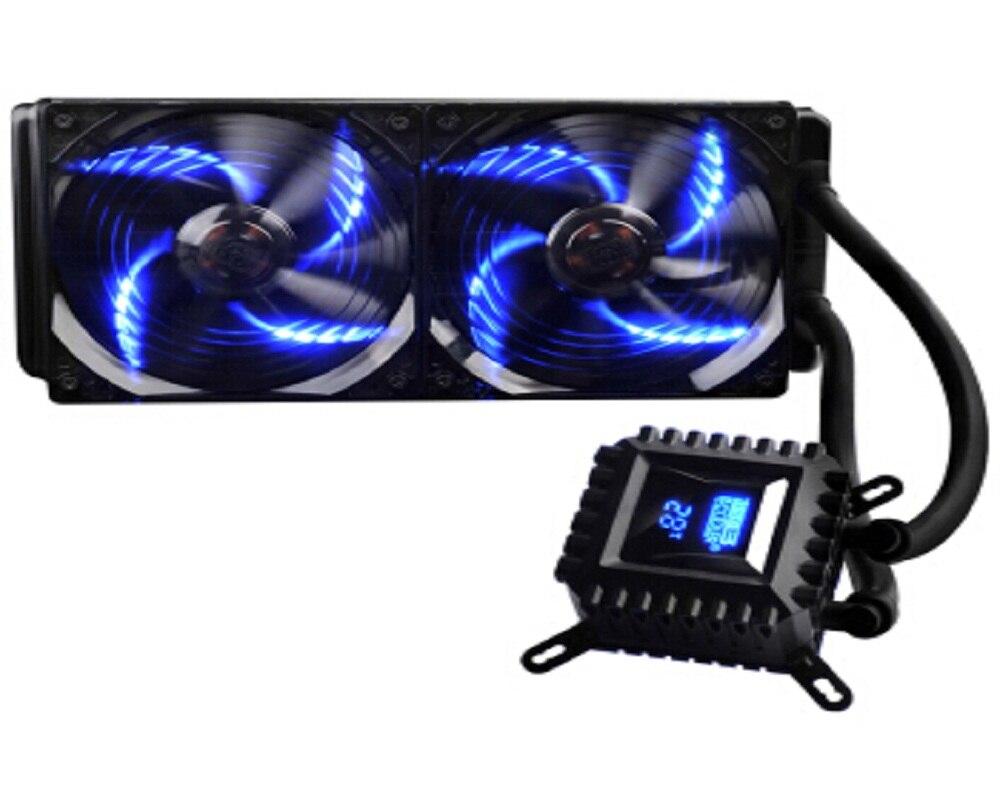 Pccooler di raffreddamento ad acqua CPU Liquido di raffreddamento per AMD AM4 Intel 775 1150 1151 1155 1156 CPU radiatore 120mm 4pin CPU ventola di raffreddamento del PC silenzioso