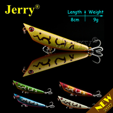 Jerry 1pc 8cm 9g  fishing lures popper lures pencil bait stickbait topwater lures fishing tackle
