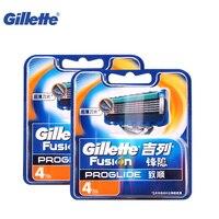 Original Razor Blades Replacement Heads Gillette Fusion Proglide Flexball Shaving Razor Blades For Men Brands Shaver