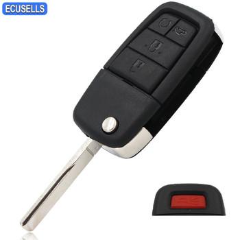 Nowy zamiennik 4 + przycisk paniki 5 przycisk składana klapka obudowa pilota z kluczykiem samochodowym Shell amp Key Blank dla Pontiac G8 Uncut Blade tanie i dobre opinie ecusells CN (pochodzenie) China for car key 2 cm 7 cm good 0 05 kg 3 cm