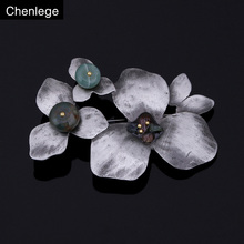 chenlege large brooches vintage women pins female fashion bouquet plant flower broche retro pin and brooch for women jewelry