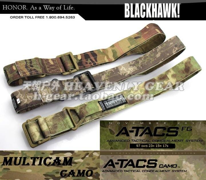 BLACKHAWK CQB Rigger's Tactical Belt 1000D Nylon(Multicam, A