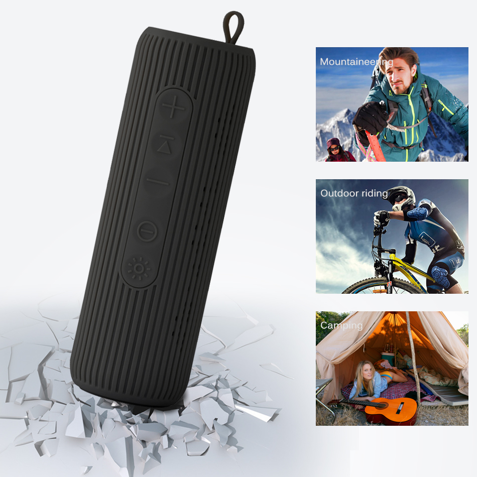 все цены на 6W Wireless Bluetooth Speaker Waterproof Portable Outdoor Mini Column Bluetooth bicycle Speaker Hifi Subwoofer Bass Speaker