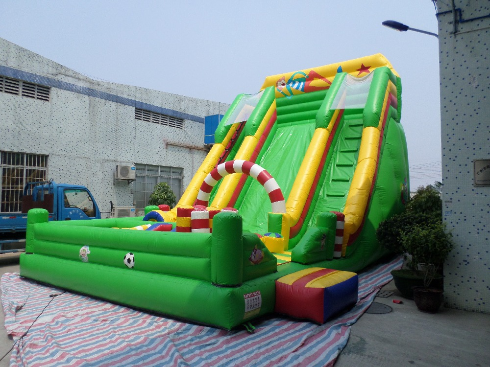 Factory direct pool slide, inflatable slide, inflatable trampoline, factory direct inflatable slide inflatable castle inflatable obstacles water park etc hx 198