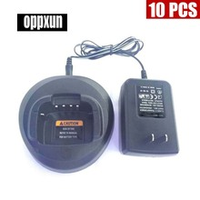 10PCS Ni-MH Battery Charger for Motorola Walkie Talkie CP185 EP350 CP476 CP477 CP1300 CP1600 CP1660 P140 P145 P160
