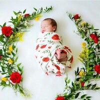 Newborn Muslin Cotton Baby Blanket Infant 100% Cotton Double Gauze Bath Towel Baby Receiving Blankets Hold Wraps 120cm * 120cm