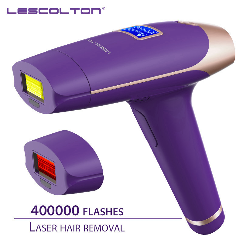 Lescolton 1300000 times 5in1 IPL Epilator permanent Hair Removal With LCD Display Machine Laser For Boay Bikini Face Underarm in Epilators from Home Appliances