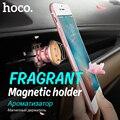 Original hoco ca8 aroma metal magnética sostenedor del teléfono del coche salida de aire giratoria vehículo imán del soporte para el iphone samsung universal