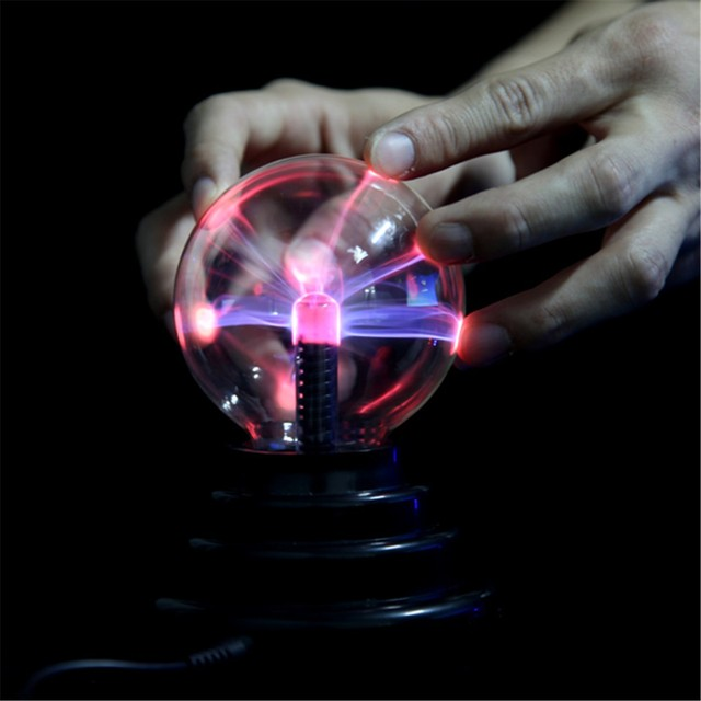 USB Plasma Bal Bol Verlichting Lamp Desktop Light Party Magic ...