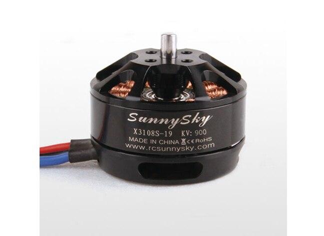 SUNNYSKY X3108S 720KV 900KV 3 4s 325W 22A/30S 1kg Brushless Motor Efficient Shaft Disk Motor for Multi rotor copter
