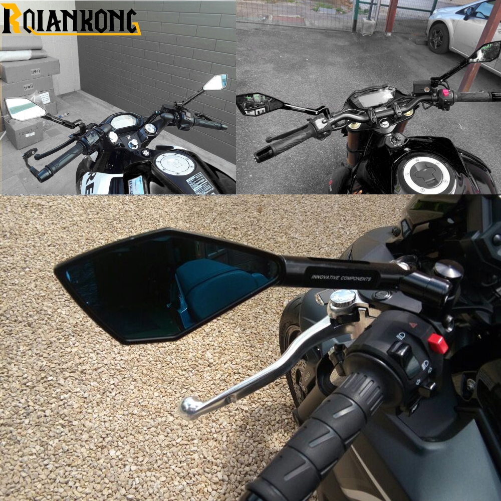 Motorcycle CNC Rearview Side mirrors or Yamaha MT-07 MT07 MT07 2014-2019 2018