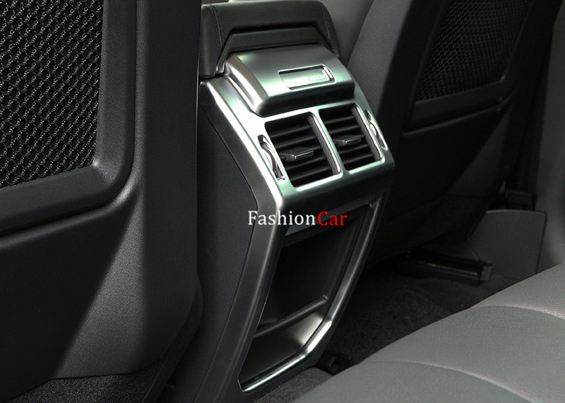 For Land Rover Range Rover Evoque 2011-2016 Interior Rear armrest box decoration stripe trim 1pcs технопарк модель автомобиля land rover range rover evoque цвет оливковый