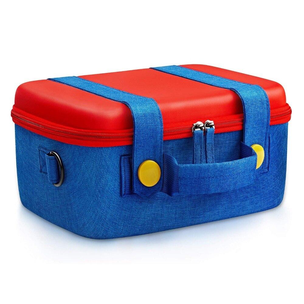 EHuuGie mallette de voyage pour Console de commutation ntint sacoche de protection rigide pour accessoires Nintendo