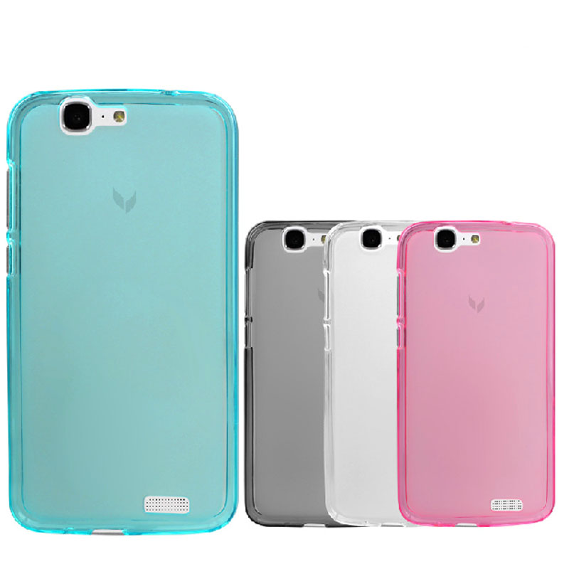 For Huawei Ascend G7 Case Cover High quality TPU Soft Cover Phone Case For Huawei Ascend G7 Multi Colors Huawei G7 Cover Case