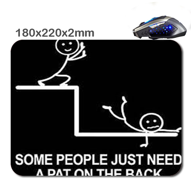 Hot Sell Funny Black Humor Ctrl Alt Del Non-Slip Laptop Computer PC soft Mouse Pad Mice for Optical Mouse220*180*2mm&290*250*2MM