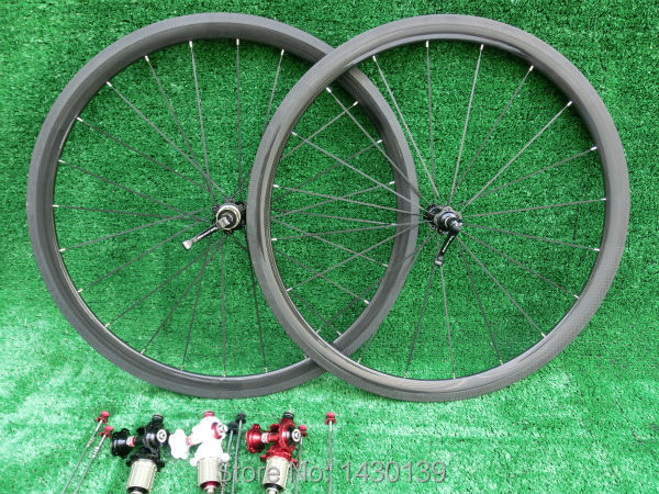 New 700C 38mm clincher rims Road bike 3K UD 12K full carbon fibre bicycle wheelsets lightest aero spokes 23 25mm width Free ship carbon aero rims 700c road bike 40 50 56 86 mm depth 27mm width bicycle rims carbon wheels clincher ud glossy matte