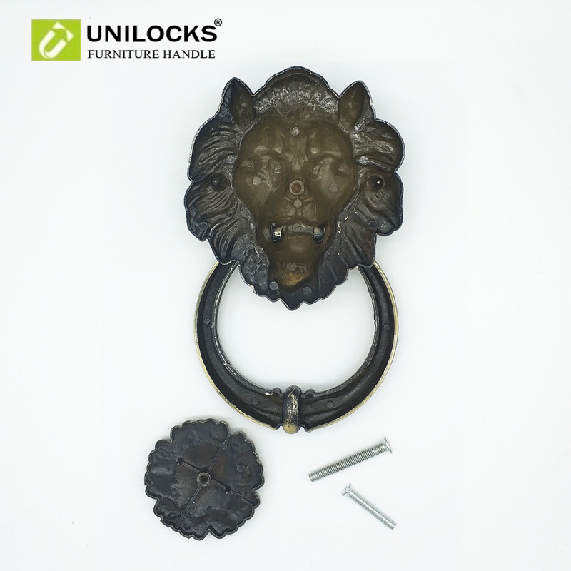 Aliexpress.com : Buy UNILOCKS 20cm Large Antique Lion Door Knocker Lionhead  Doorknockers Lions Home Decor from Reliable decorative door knockers  suppliers ... - Aliexpress.com : Buy UNILOCKS 20cm Large Antique Lion Door Knocker