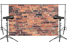 Brick Photography Backdrop Photo Retro Background Studio Props Wall 5x7ft