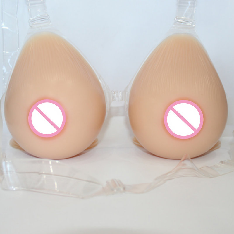 Silicone Breast Form Artificial Boob Enhancer False Tits Sexy Bra Bust Chest With Bra For Transgender Crossdresser F-G Cup 1400g pair e cup artificial sexy transgender silicone breast form bra false cross dresser boob fake drag queen bust tit chest
