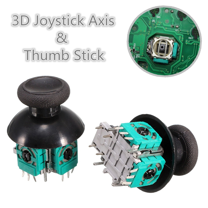 2pcs 3D Controller Joystick Axis Analog Sensor Module + Thumbstick 3D Joystick Handle Rocker With Cap For Xbox One Controller футболка wearcraft premium slim fit printio царь леонид by design ministry