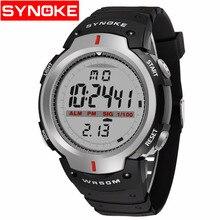 SYNOKE Waterproof Outdoor Sports Men Digital Children's watch LED Quartz Alarm Wrist Watch digital men's  Relogio Masculino цена и фото