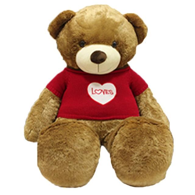 Teddy Bear Kawaii Stuffed Toys Care Bears Love Doll Valentines Day