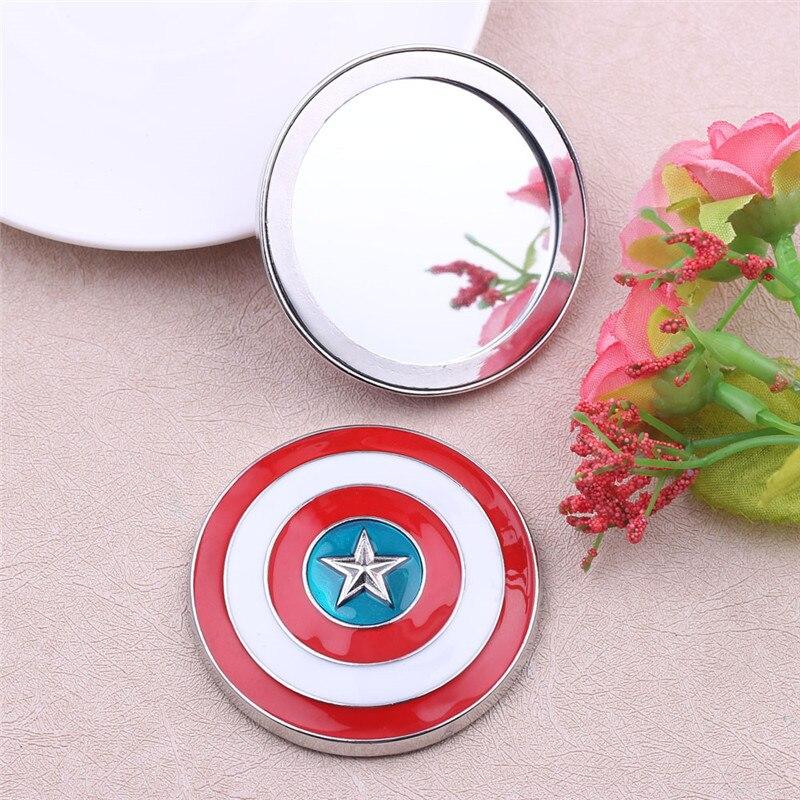 Mirror Makeup Avengers Captain America Super-Hero Jewelry Gift Girls Mar Illuminate Your